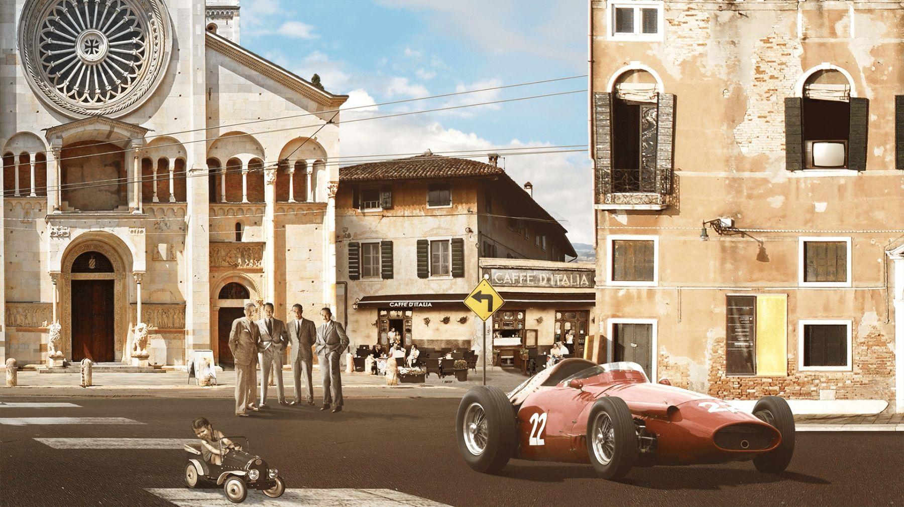 1950-1960 - Il miracolo Maserati