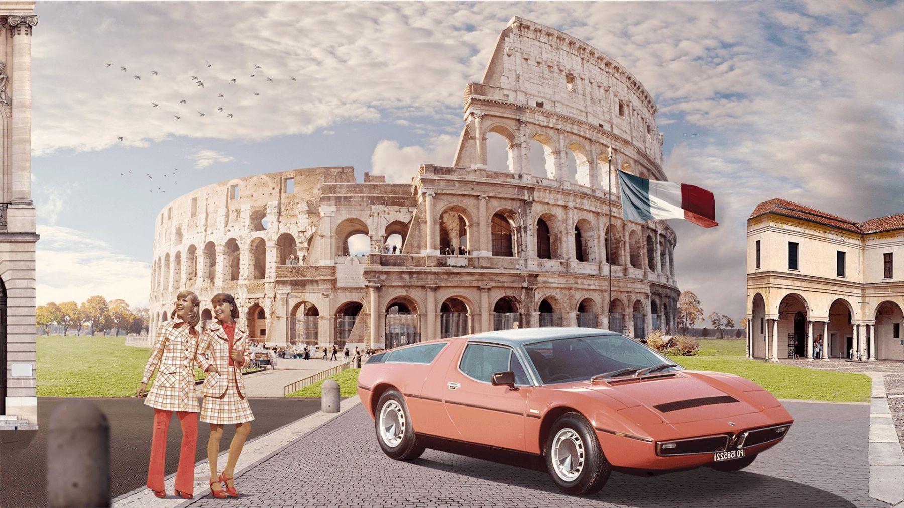 1970-1980 - Un nuovo capolavoro Maserati